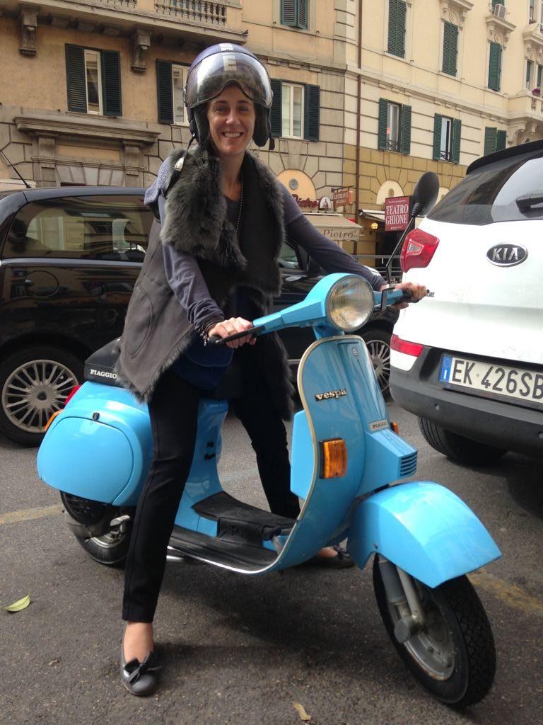 Ciao Roma! Tam tylko na skuterze - mówi Monika Rajska - Wolińska
