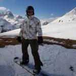 Snowboard w Alpach - miłość do deski zaczęła się od deskorolki