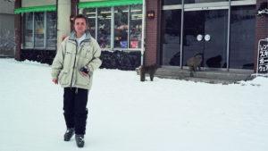 Po szusowaniu na nartach w Nagano. To była jazda...