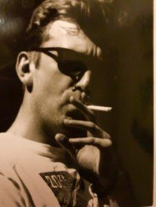 W czasie Sylwestra we Francji w latach 90. – Gdy byłem jeszcze głupi i paliłem – skomentował John
