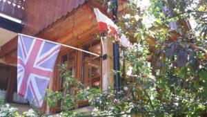 Na domu Marzeny i Richarda w Zakopanym powiewają dwie flagi