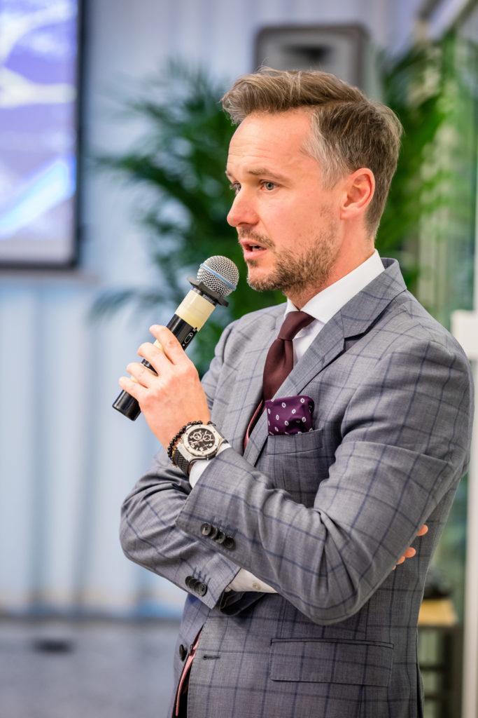 Emil Domeracki, dyrektor, Colliers International