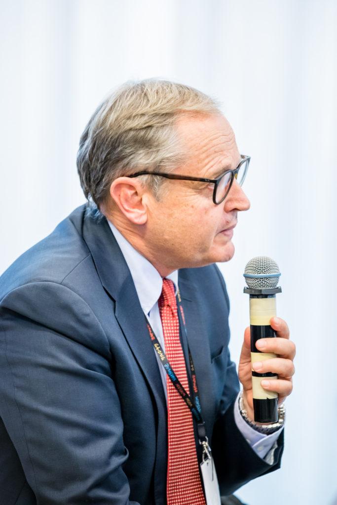 Jan Dębski, prezes firmy Unibail-Rodamco Poland