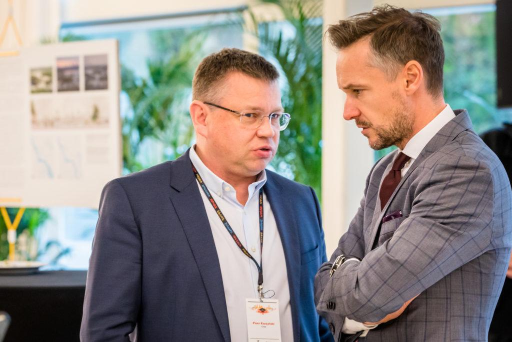 Piotr Kaszyński, Cresa Polska i Emil Domeracki, Colliers International
