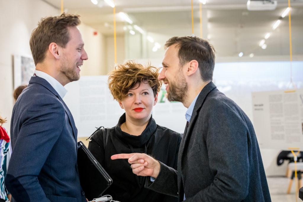Wojciech Nowakowski, Dekada SA, Marlena Happach, Architekt Warszawy i Piotr Sawicki, BRG Warszawa