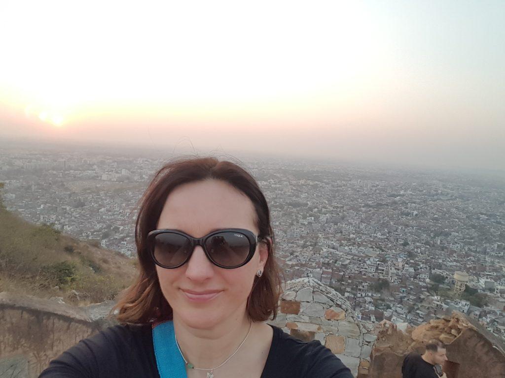 Zachód słońca w Jaipur - niezapomniane widoki