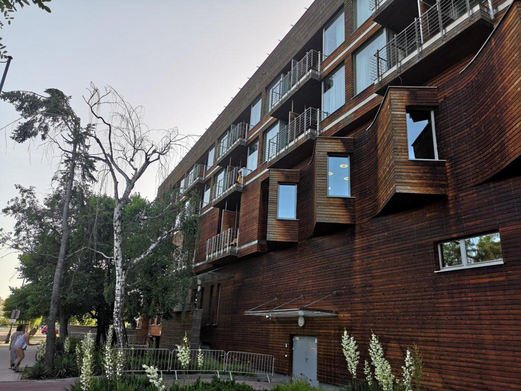 Hotel w Sopocie - świetna robota architekta