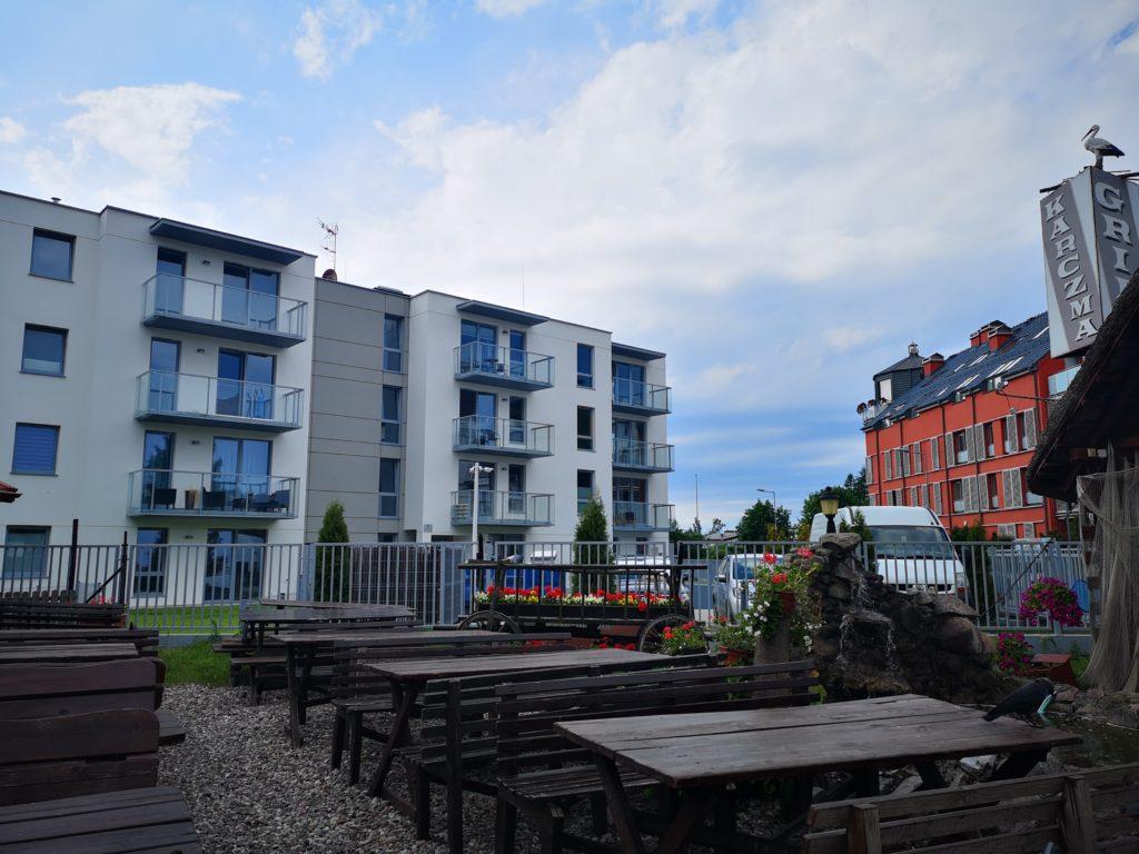 Nowy blok na osiedlu we Władysławowie