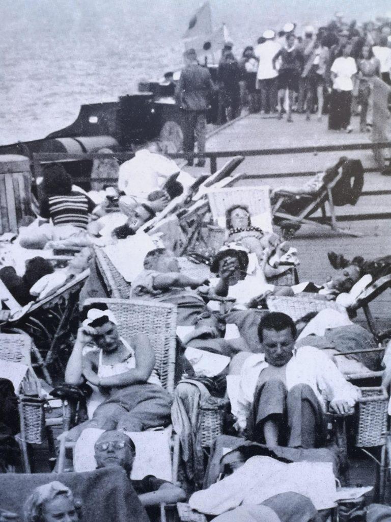 Sopockie molo w 1939 roku
