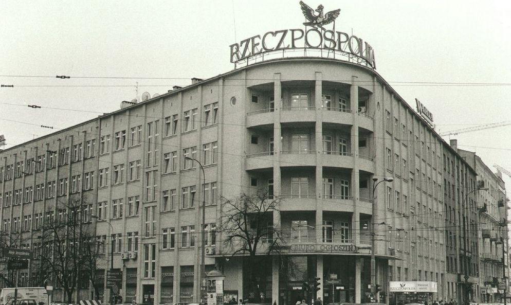 Stara siedziba redakcji Rzeczpospolitej - zdjęcie za https://lnkd.in/dZDjAix